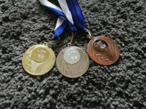 Jyväskylän junioreiden frisbeegolfin mestaruuskisat Harjulla 19.9