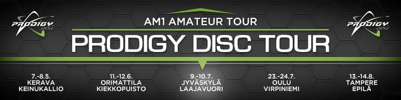 Prodigy Disc Tour kisattu