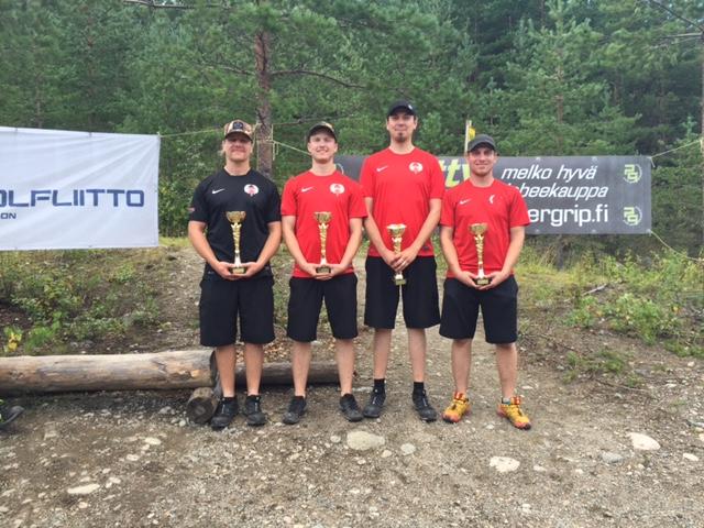 Joukkuegolfin Suomen mestarit 2016
