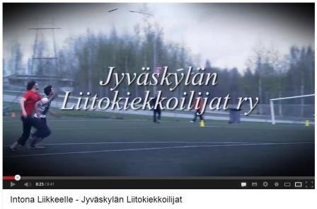 Intona Liikkeelle -sarjassa esittelyssä JYLI!