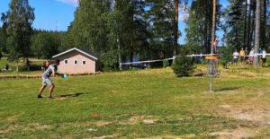 Oskari Vikström on frisbeegolfin Suomen mestari 2019!